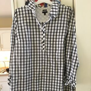 Talbots long sleeve blouse